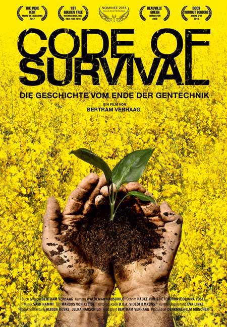 CODE OF SURVIVAL – Die Geschichte vom Ende der Gentechnik