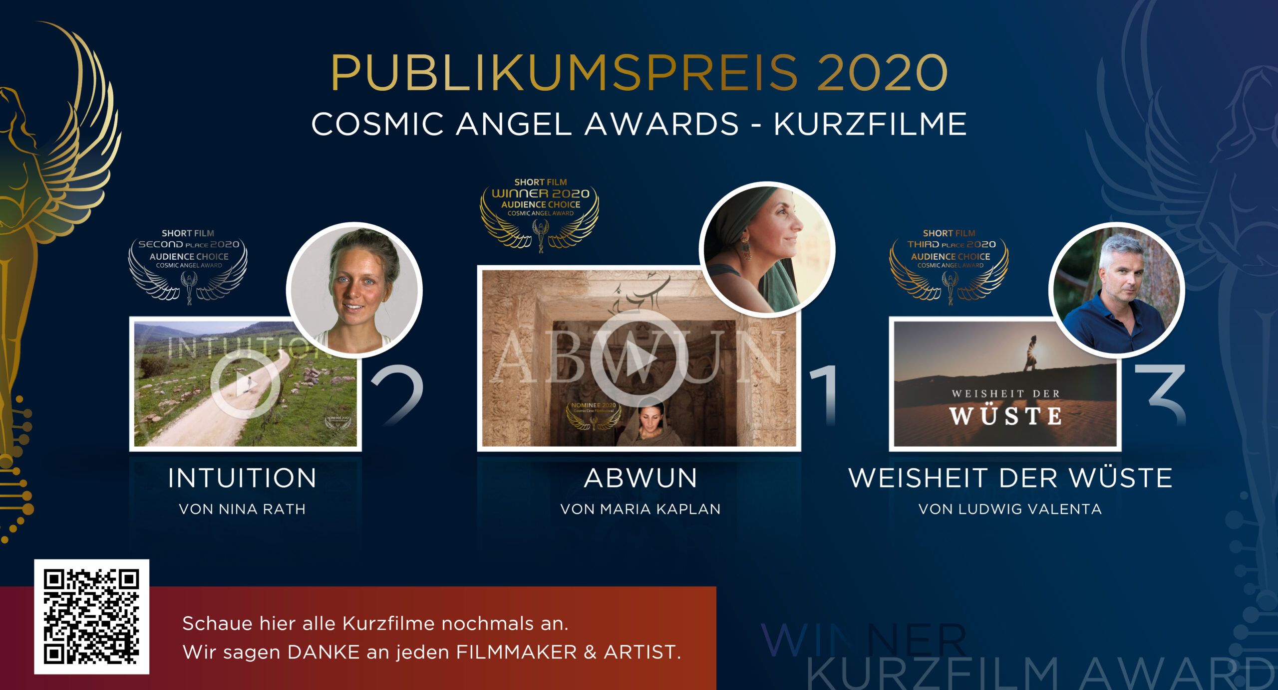 Winner Audience Award 2020